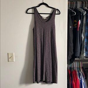 Madewell Knit Striped Tank Dress - Size L